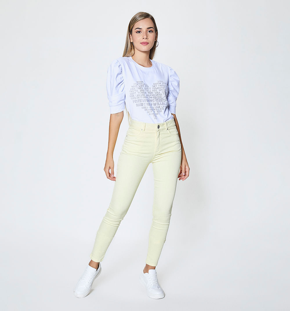 Jeans Skinny Para Mujer Studio F Colombia