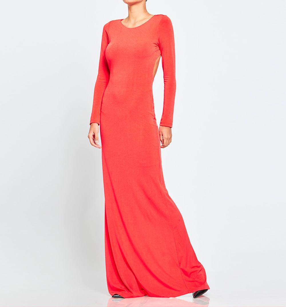 Vestido Largo Amarre Trasero Ref S069826 - Studio F 84b05ecb36e6