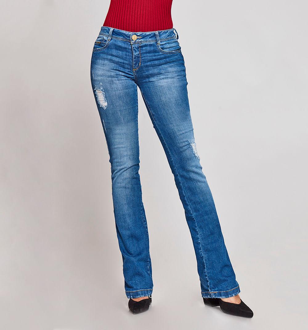 Jeans Bota Recta Studio F   Moda Femenina 2019