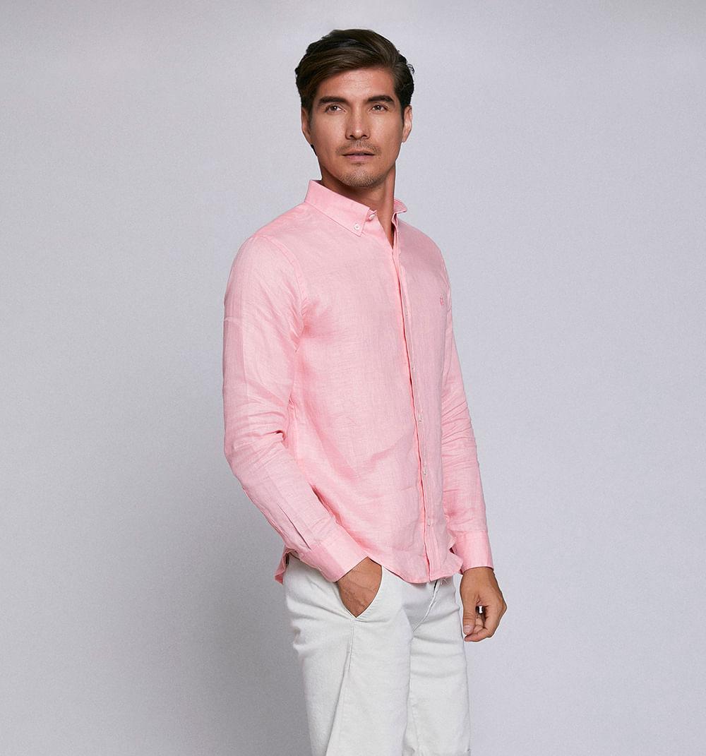41ae663ba ELEGIR TALLA COLOR AGREGAR AL CARRITO. Información de Producto. Camisa  Manga Larga Unicolor ...